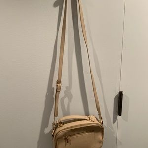 a new day Bags - anewday beige crossbody bag
